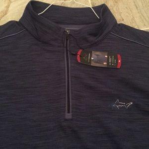 NWT Greg Norman quarter zip pullover